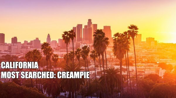 Most Searched Porn Term - Sky - CALIFORNIA MOST SEARCHED: CREAMPIE