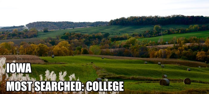 Most Searched Porn Term - Natural landscape - IOWA MOST SEARCHED COLLEGE