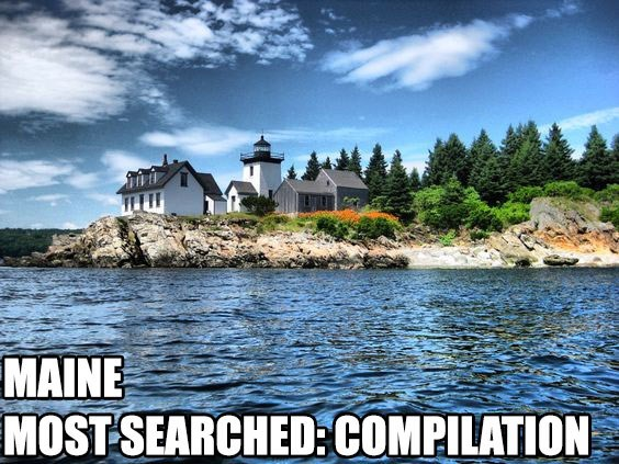 Most Searched Porn Term - Natural landscape - MAINE MOST SEARCHED: COMPILATION