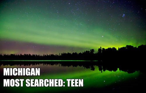 Most Searched Porn Term - Aurora - MICHIGAN MOST SEARCHED: TEEN