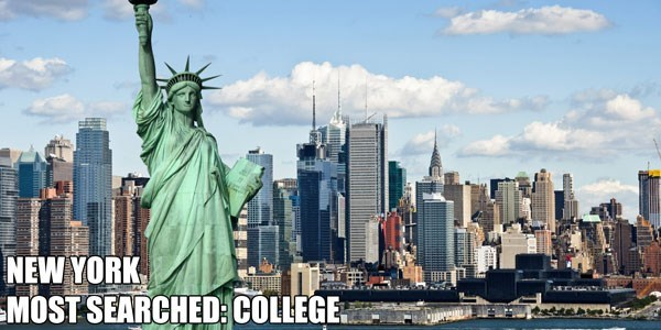 Most Searched Porn Term - Metropolitan area - NEW YORK MOST SEARCHED COLLEGE