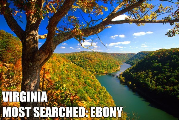 Most Searched Porn Term - Natural landscape - VIRGINIA MOST SEARCHED EBONY