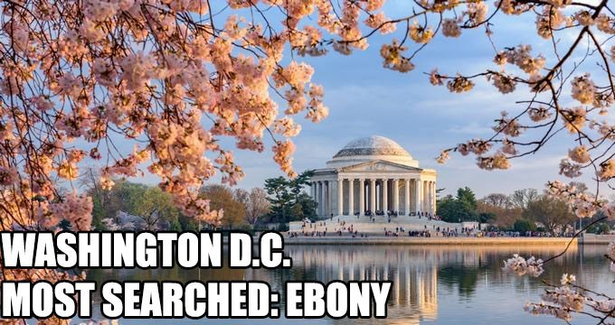 Most Searched Porn Term - Landmark - WASHINGTON DC MOST SEARCHED: EBONY