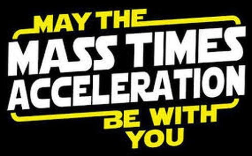 Font - MAY THE MASS TIMES ACCELERATION BE WITH YOU