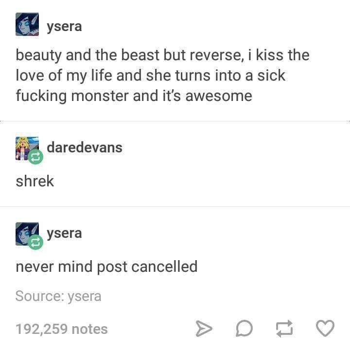Dank meme that is basically just the plot of Shrek