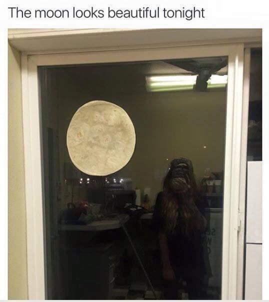 Tortilla moon dank meme