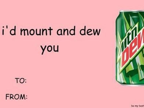 Green - i'd mount and dew you TO: FROM: be my best tn De