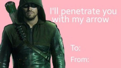 Cool - 'll penetrate you with my arrow To: From: