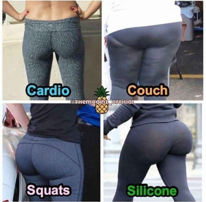 Clothing - Cardio Couch OTHemcainz OFFicial Silicone Squats