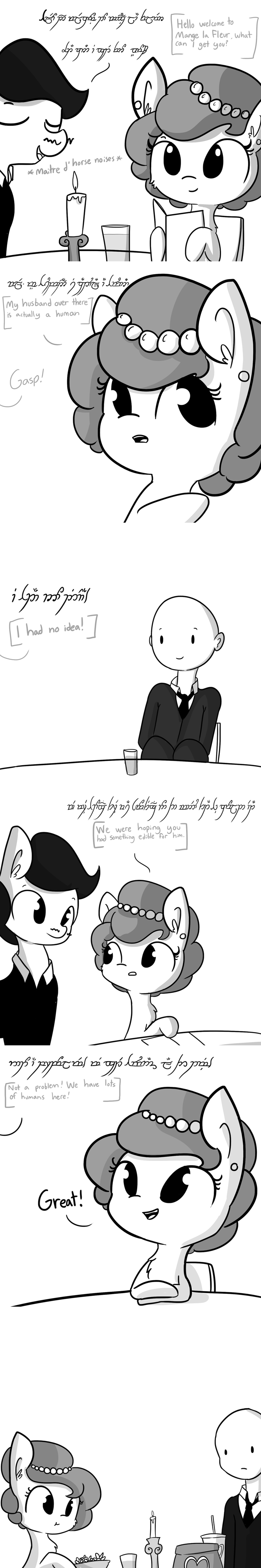OC McDonald's comic horse wife - 9011453952