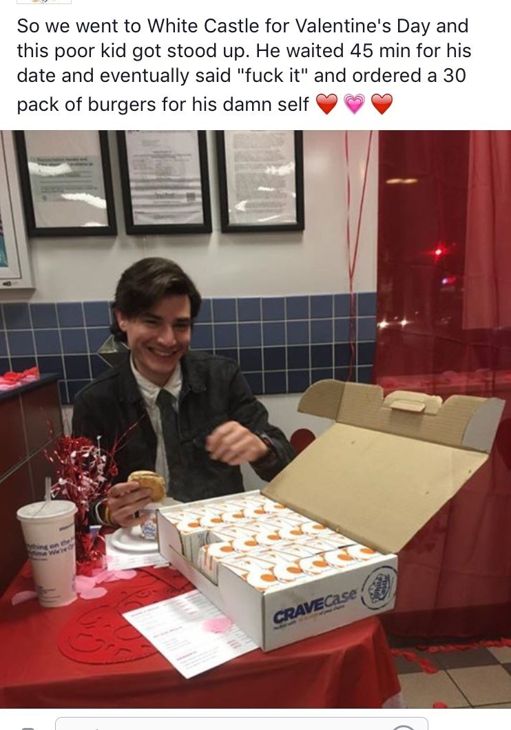 win image white castle valentine's day