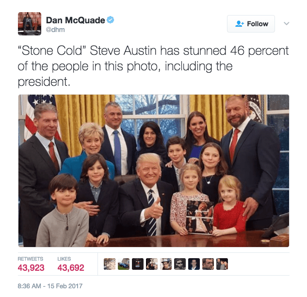 win image stone cold stunned trump