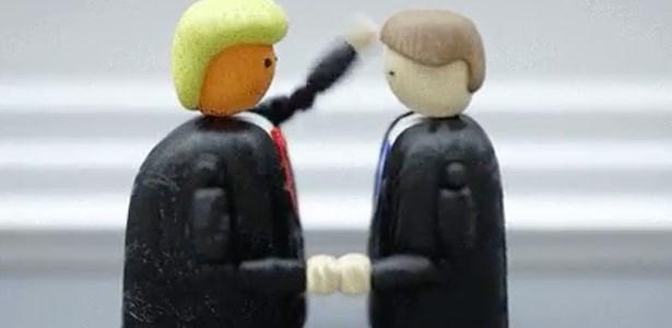 win trump handshake gif