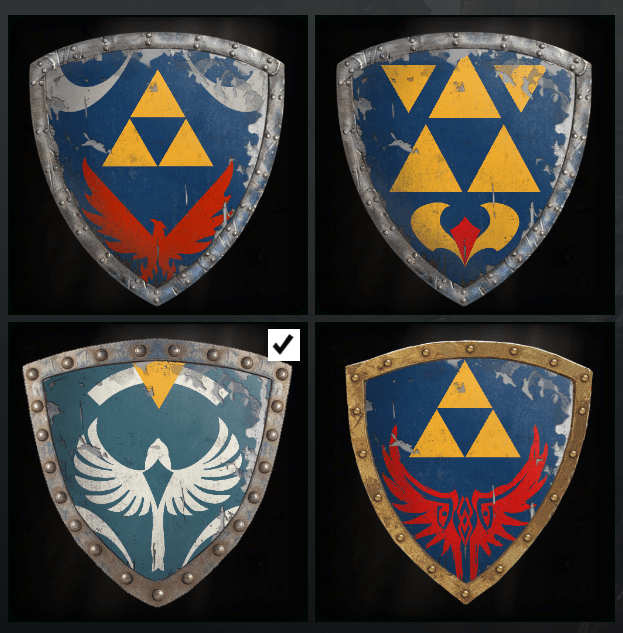 legend of zelda for honor - 9011742208