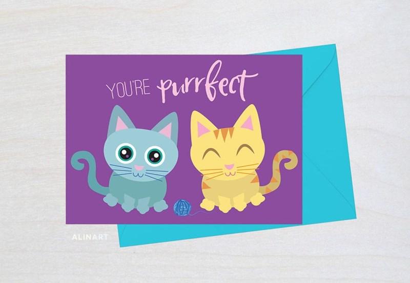 Cat - YOURE Purrf ALINART