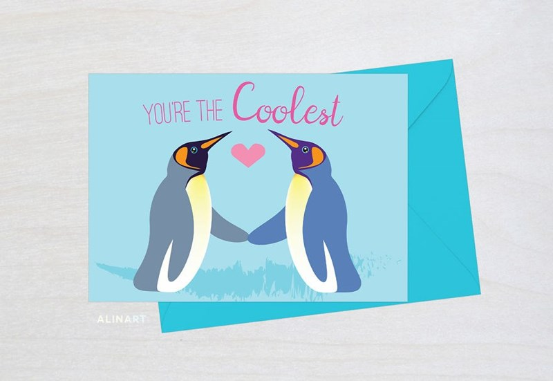 Penguin - Coolest YOURE THE ALINART