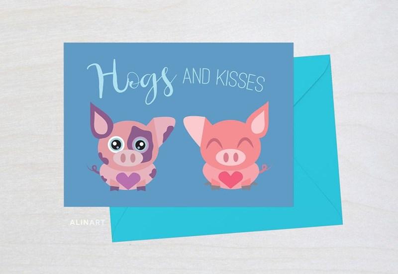 Domestic pig - Mags AND KISSES ALINART