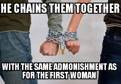 bad joke - Jeans - НЕ СHAINS THEMTOGETHER WITH THE SAMEADMONISHMENTAS FOR THE FIRST WOMAN