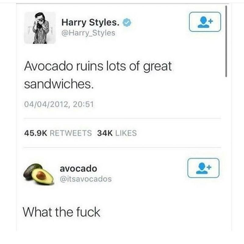 fail image avocado harry styles