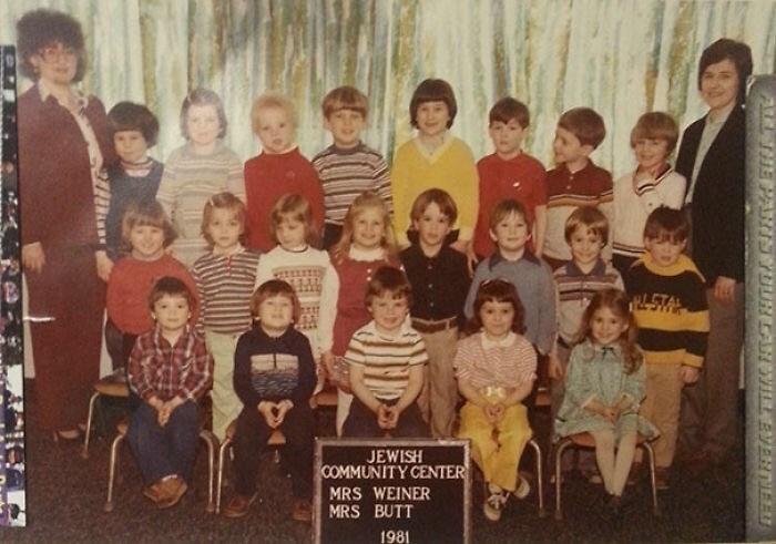 People - TRLSTA JEWISH COMMUNITY CENTER MRS WEINER MRS BUTT 1981 ALHE PANIS YOURLANWILLBVERNEE