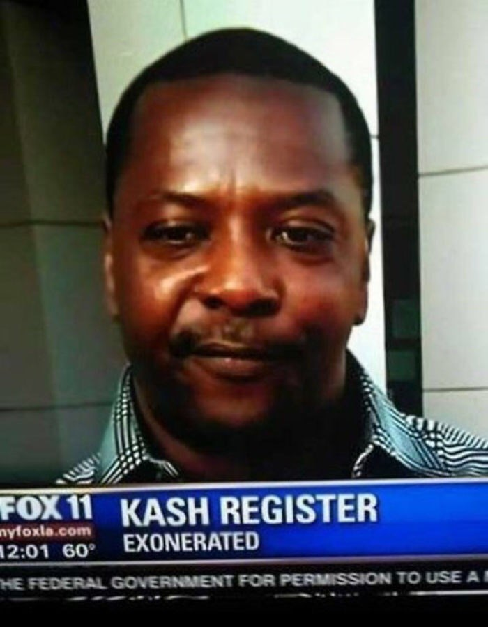 Hair - FOX 11 KASH REGISTER nyfoxla.com 12:01 60° EXONERATED HE FEDERAL GOVERNMENT FOR PERMISSION TO USE A
