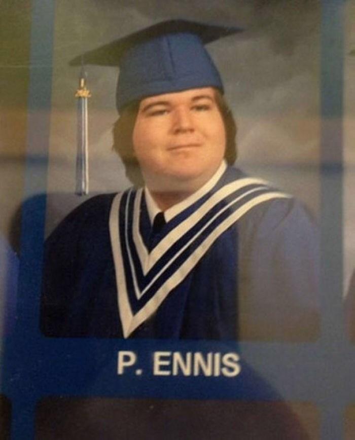 Academic dress - P. ENNIS