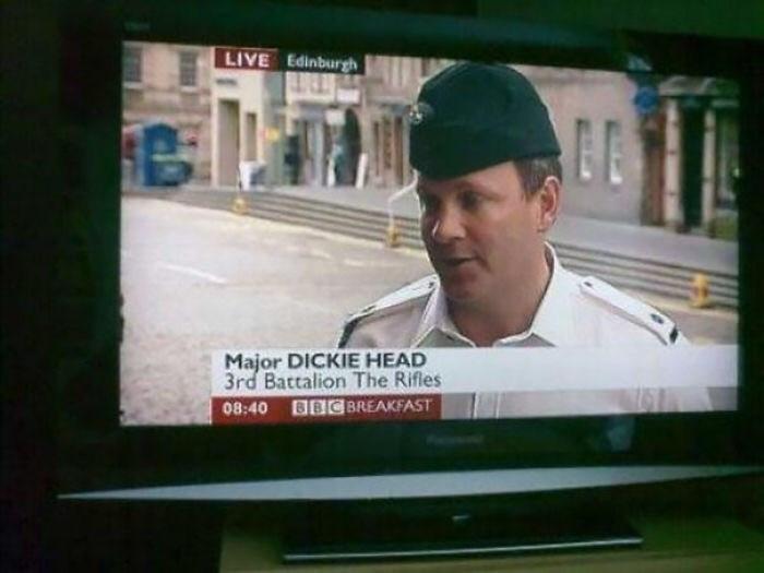 Photograph - LIVE Edinburggh Major DICKIE HEAD 3rd Battalion The Rifles 08:40 BBC BREAKFAST