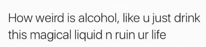 Friday meme about alcohol