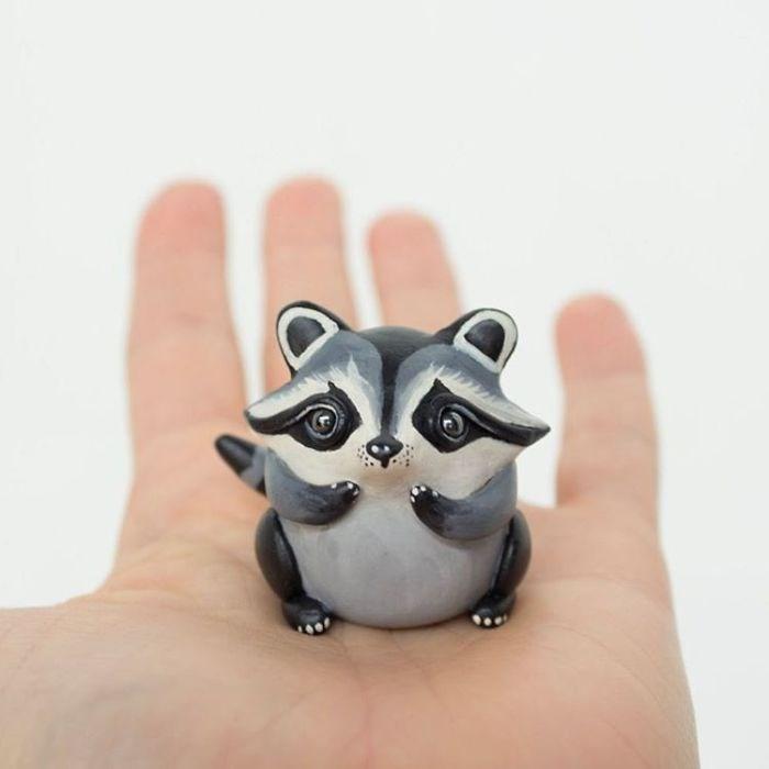 animal sculpture - Procyonidae