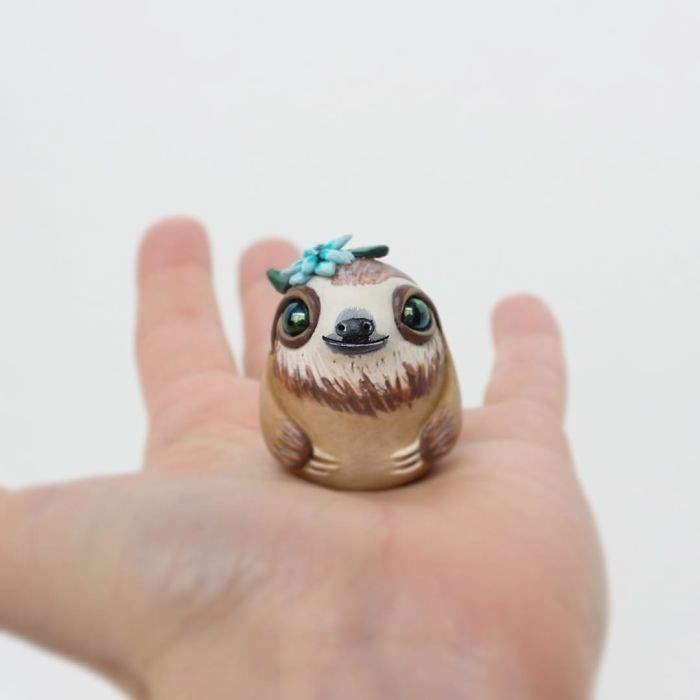 animal sculpture - Sloth