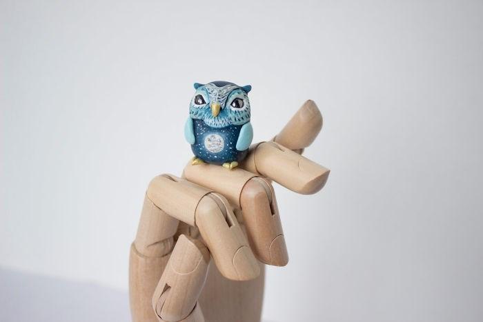 animal sculpture - Owl