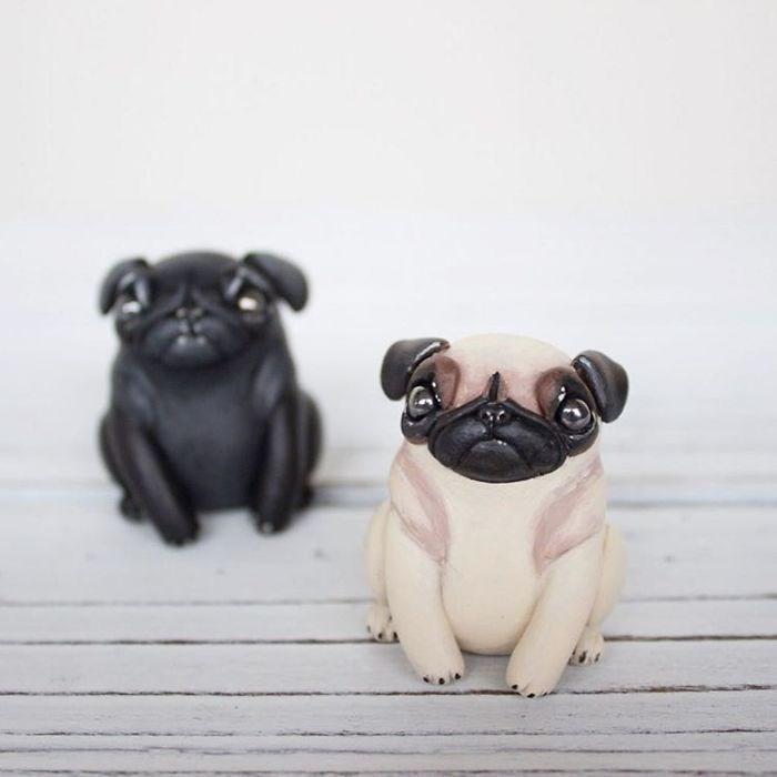 animal sculpture - Pug