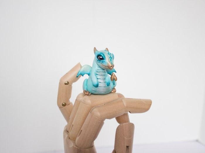 animal sculpture - Blue