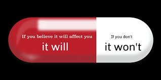 Red - If you believe it will affect you If you don't it will it won't