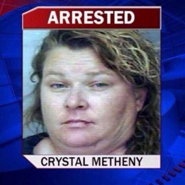 funny names - Face - ARRESTED CRYSTAL METHENY for launching missile at car and not for having a funny name