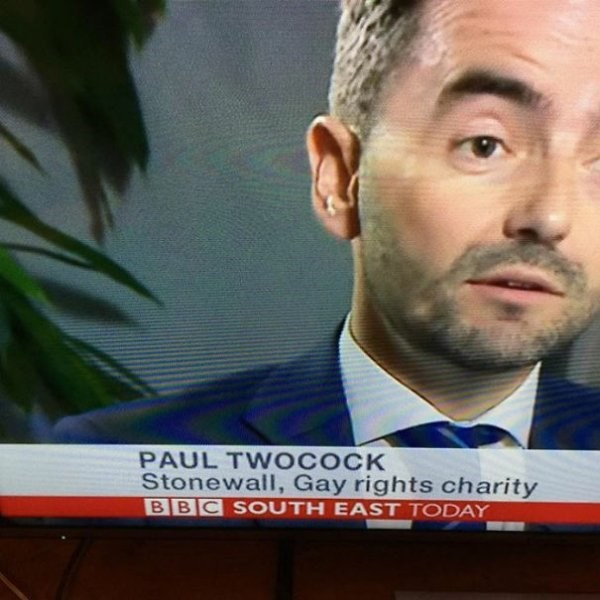 funny name - Hair - PAUL TWOCOCK Stonewall, Gay rights charity BBC SOUTH EAST TODAY