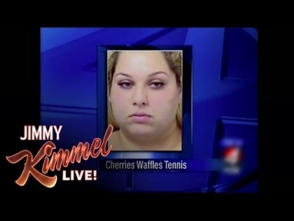 funny name - Face - JIMMY Cherries Waffles Tennis LIVE!