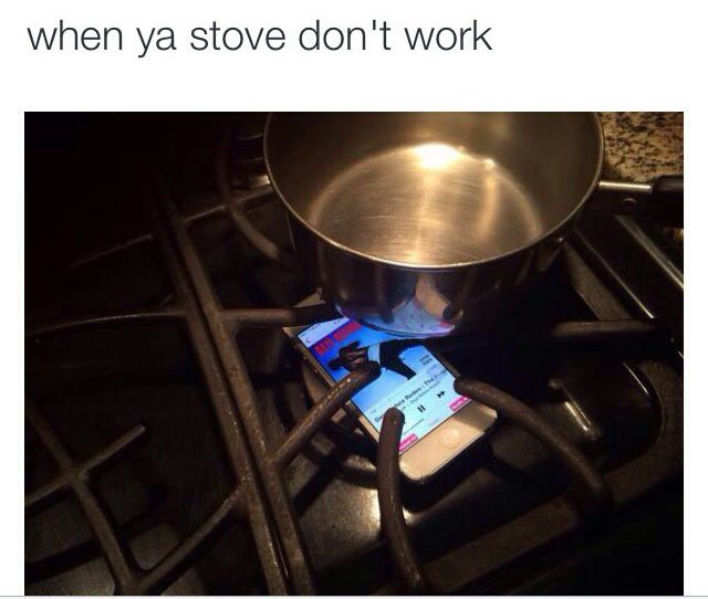 Product - when ya stove don't work