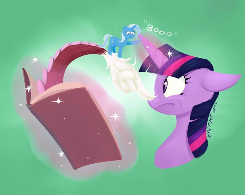the great and powerful trixie,discord,twilight sparkle