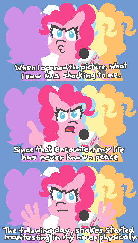pinkie pie,ponify,comic