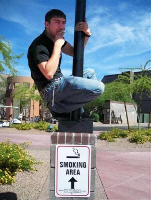 Individual sports - SMOKING AREA