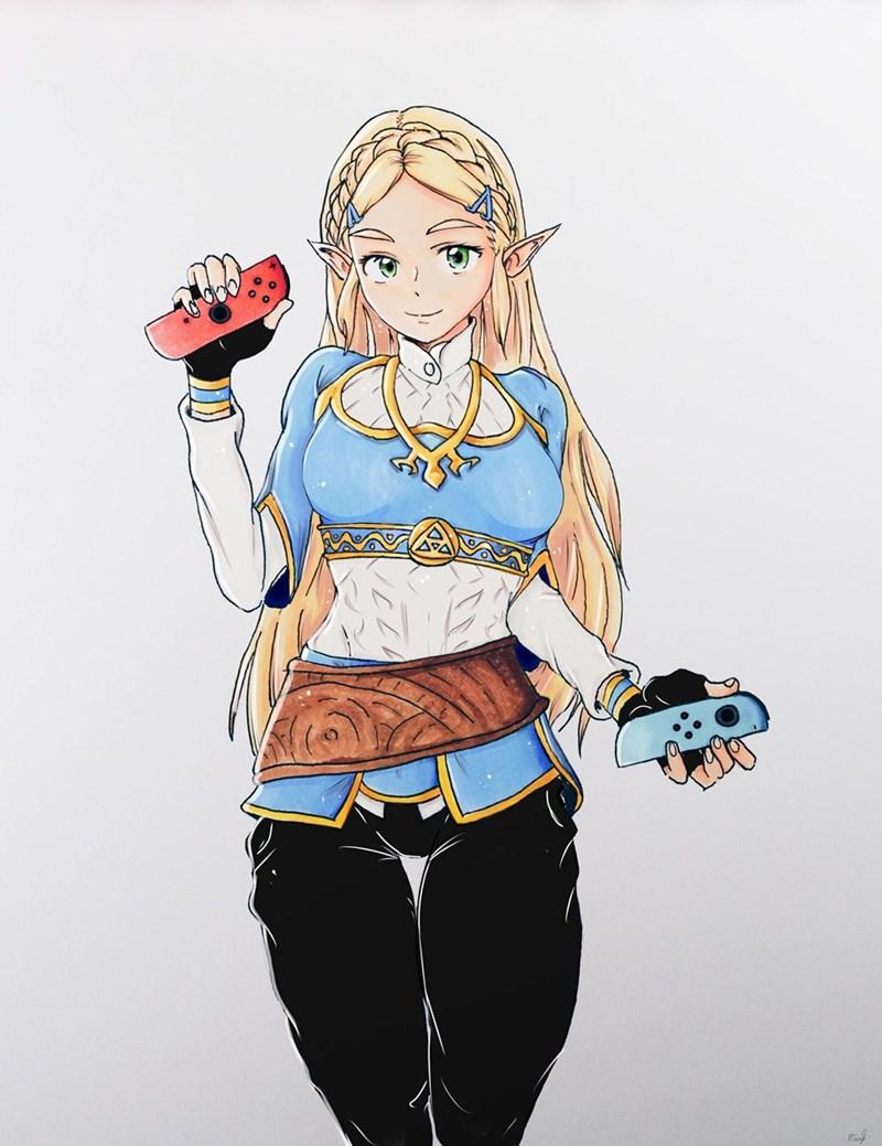 legend of zelda - 9012933632