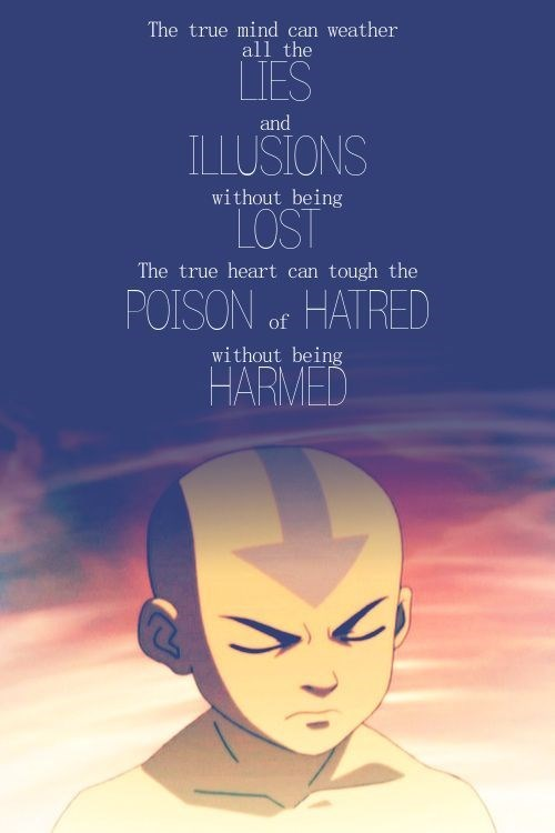 Forehead - The true mind can weather all the LTES and ILLUSIONS without being LOST The true heart can tough the POISON of HATRED without being HARMED