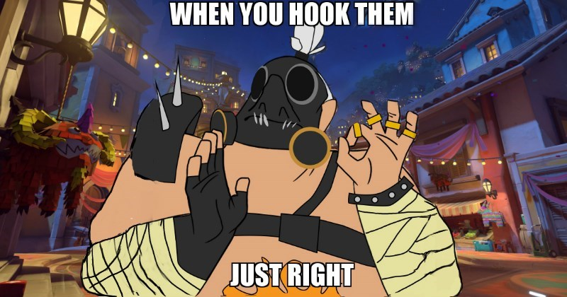 Animated cartoon - WHEN YOU HOOK THEM JUST RIGHT
