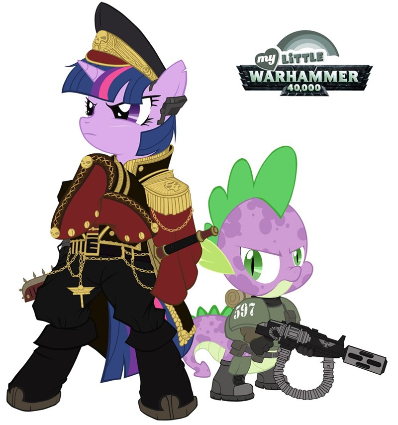 spike twilight sparkle warhammer 40k ponify - 9013406720