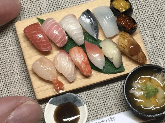 tiny sushi - Food