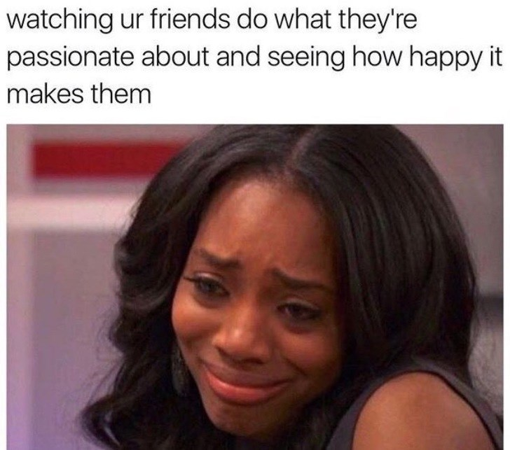 happy meme about being happy for your friends when they're successful