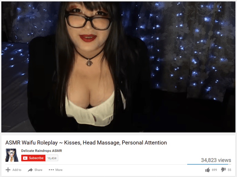 cringeworthy - Eyewear - ASMR Waifu Roleplay ~ Kisses, Head Massage, Personal Attention Delicate Raindrops ASMR Subscribe 16,404 34,823 views 55 Add to Share .More 699