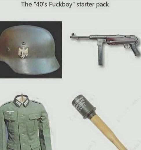 """Helmet - The """"40's Fuckboy"""" starter pack GERAUO"""
