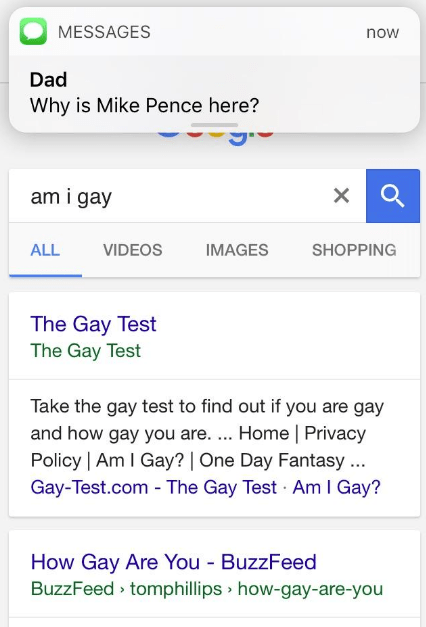 dank meme about Mike Pence coming to get you for being gay